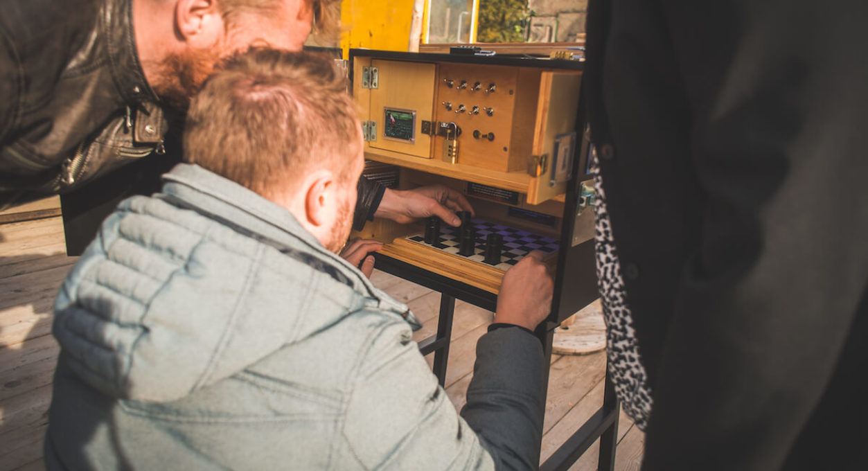 Boxen mobiele escape room